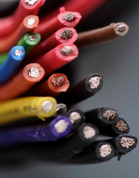 Electrical wiring- different colors